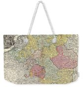 1740 Homann Map Of The Holy Roman Empire Weekender Tote Bag
