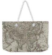 1745 Asia Map Weekender Tote Bag