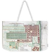 1750 Bellin Map Of Cape Town South Africa Weekender Tote Bag