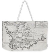 1757 Bellin Map Of South Africa And The Cape Of Good Hope Weekender Tote Bag by Paul Fearn