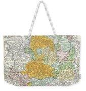 1761 Homann Heirs Map Of Westphalia  Weekender Tote Bag