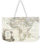 1762 Janvier Map Of Africa Weekender Tote Bag