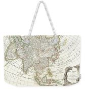 1770 Janvier Map Of Asia Weekender Tote Bag