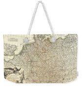 1771 Rizzi Zannoni Map Of Germany And Poland Weekender Tote Bag
