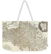 1771 Zannoni Map Of Poland And Lithuania Weekender Tote Bag