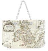 1771 Zannoni Map Of The British Isles  Weekender Tote Bag