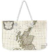 1772 Bonne Map Of Scotland  Weekender Tote Bag