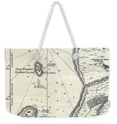 1773 Bellin Map Of The Cape Of Good Hope Capetown South Africa Weekender Tote Bag