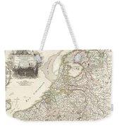 1775 Janvier Map Of Holland And Belgium Weekender Tote Bag