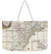 1779 Phelippeaux Case Map Of The United States During The Revolutionary War Weekender Tote Bag