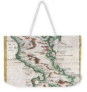 1780 Raynal And Bonne Map Of Martinique West Indies Weekender Tote Bag