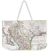 1780 Raynal And Bonne Map Of Mexico And Texas  Weekender Tote Bag