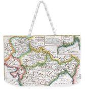 1780 Raynal And Bonne Map Of Northern India Weekender Tote Bag