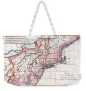 1780 Raynal And Bonne Map Of Northern United States Weekender Tote Bag
