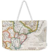 1780 Raynal And Bonne Map Of Southern Brazil Northern Argentina Uruguay And Paraguay Weekender Tote Bag