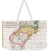 1780 Raynal And Bonne Map Of Southern United States Weekender Tote Bag