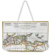 1780 Raynal And Bonne Map Of The Barbary Coast Of Northern Africa Weekender Tote Bag