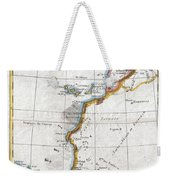 1780 Raynal And Bonne Map Of Western Africa Weekender Tote Bag