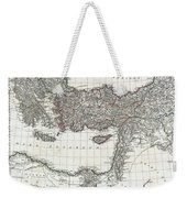 1782 D Anville Map Of The Eastern Roman Empire Weekender Tote Bag