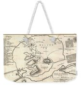 1784 Bocage Map Of Athens Greece Weekender Tote Bag