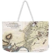 1784 Bocage Map Of The City Of Athens In Ancient Greece Weekender Tote Bag