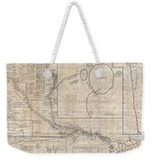 1784 Tiefenthaler Map Of The Ganges And Ghaghara Rivers India Weekender Tote Bag