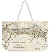 1786 Bocage Map Of Corinthia Sicyonia And Achaia In Ancient Greece Weekender Tote Bag