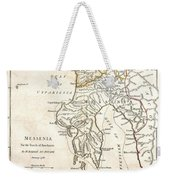 1786 Bocage Map Of Messenia In Ancient Greece Weekender Tote Bag