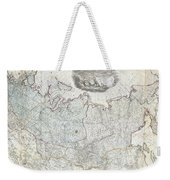 1787 Wall Map Of The Russian Empire Weekender Tote Bag
