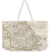 1788 Bocage Map Of Thessaly In Ancient Greece Weekender Tote Bag