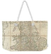 1790 Faden Map Of The Roads Of Great Britain Or England Weekender Tote Bag