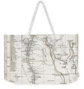 1794 Anville Map Of Ancient Egypt  Weekender Tote Bag