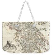1794 Anville Map Of Ancient Greece  Weekender Tote Bag