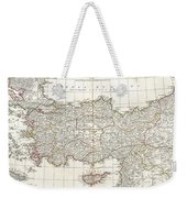 1794 Anville Map Of Asia Minor In Antiquity Weekender Tote Bag