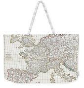 1794 Anville Map Of Europe In Late Roman Times Weekender Tote Bag