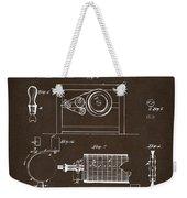 1794 Eli Whitney Cotton Gin Patent 2 Espresso Weekender Tote Bag
