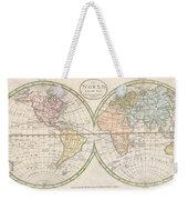 1798 Payne Map Of The World  Weekender Tote Bag