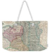 1799 Cary Map Of Poland Prussia And Lithuania  Weekender Tote Bag