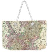 1799 Cary Map Of The Upper And Lower Rhine Weekender Tote Bag