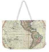 1799 Cary Map Of The Western Hemisphere  Weekender Tote Bag