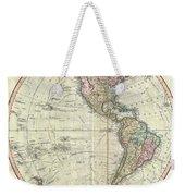 1799 Cary Map Of The Western Hemisphere  Weekender Tote Bag