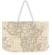 1799 Clement Cruttwell Map Of Africa  Weekender Tote Bag