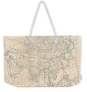1799 Clement Cruttwell Map Of Asia Weekender Tote Bag