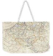 1799 Clement Cruttwell Map Of Belgium Or The Netherlands Weekender Tote Bag