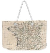 1799 Clement Cruttwell Map Of France In Provinces Weekender Tote Bag