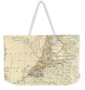 1799 Clement Cruttwell Map Of Holland Or The Netherlands Weekender Tote Bag