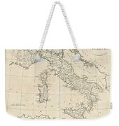 1799 Clement Cruttwell Map Of Italy Weekender Tote Bag