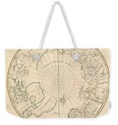 1799 Clement Cruttwell Map Of North Pole Weekender Tote Bag