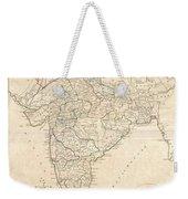 1799 Clement Crutwell Map Of Hindoostan Weekender Tote Bag
