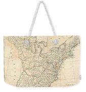 1799 Cruttwell Map Of The United States Of America Weekender Tote Bag